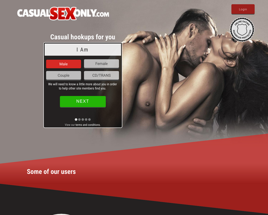 CasualSexOnly.com Logo