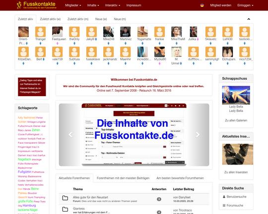 Ist Fusskontakte.de Fake oder Echt? - Datingverzeichnis